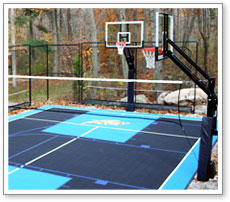 Backyard Playground Flooring