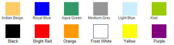 Additional Tennis Court Colors